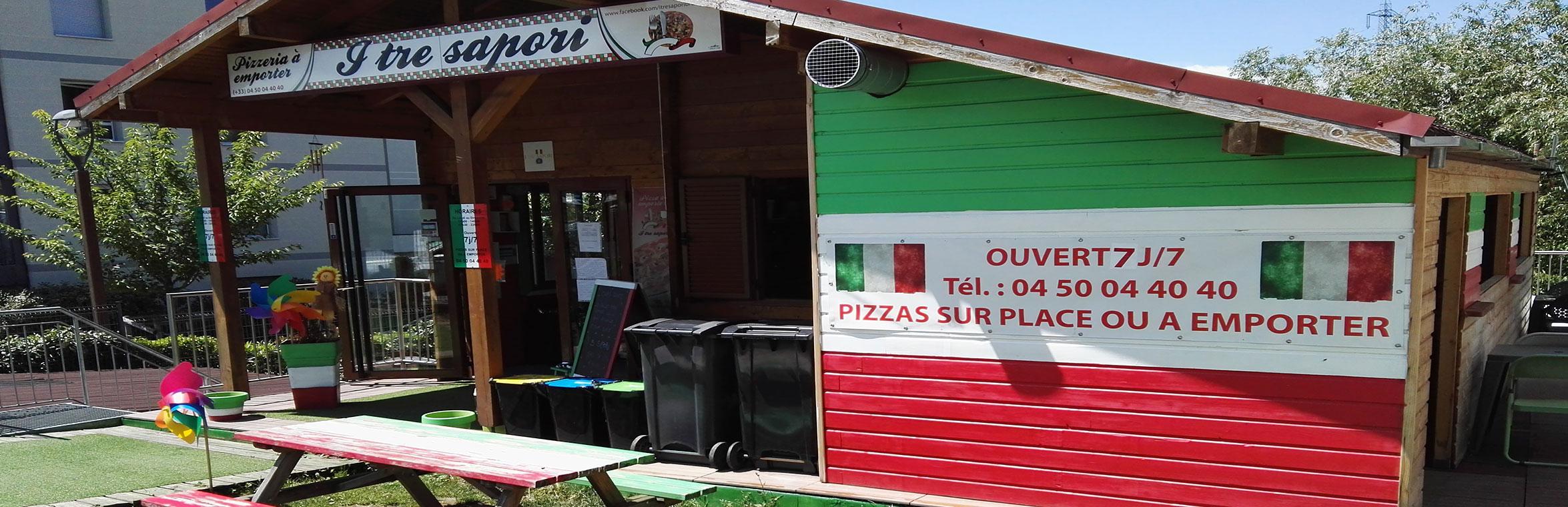 Votre pizzeria à Saint-Julien-en-Genevois : I Tre Sapori Le